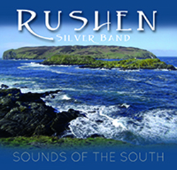 CD front cover 'Sounds of the South' Rushen Silver Band
