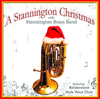 CD front cover 'A Stannington Christmas' - Stannington Band