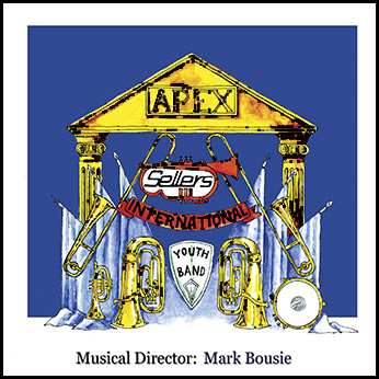 CD front cover 'Apex' - Sellers Youth Band