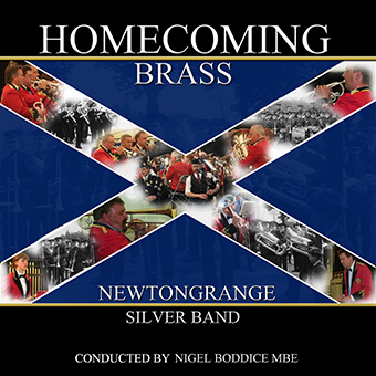 CD front cover 'Homecoming Brass' - NewtongrangeSilver Band