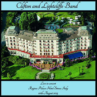 CD front cover 'Live in Stresa' - Clifton and Lightcliffe Band