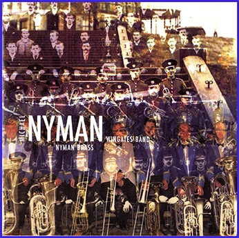 CD front cover Nyman Brass - Wingates Band