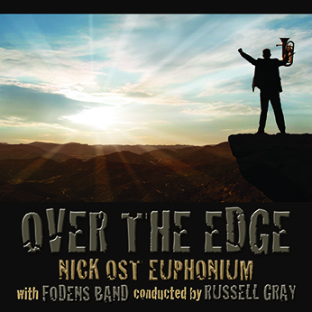 CD front cover Over The Edge - Nick Ost with Fodens Band - MHP1609