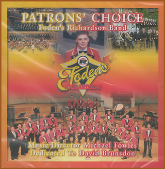 CD front cover 'Patrons Choice' - Fodens Band