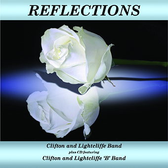 CD front cover Reflections -Clifton and Lightcliffe Bands