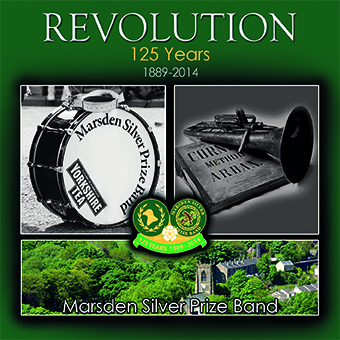 CD front cover 'Revolution' Marsden Silver Band