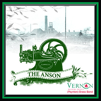 CD front cover 'The Anson' - VBS Poynton Band