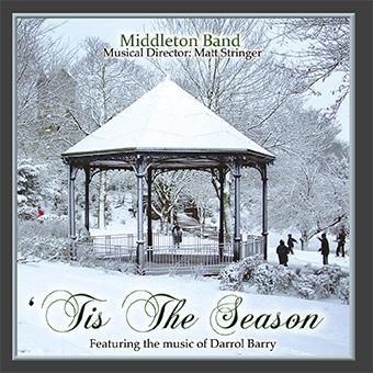 CD front cover ''Tis The Season' - Middleton Band