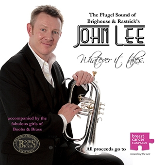 CD front cover Whatever It Takes - John Lee with Boobs and Brass