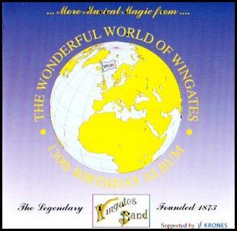 CD front cover Wonderful World of Wingates - Wingates Band