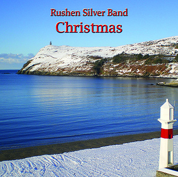 CD front cover 'Christmas' Rushen Silver Band MHP119